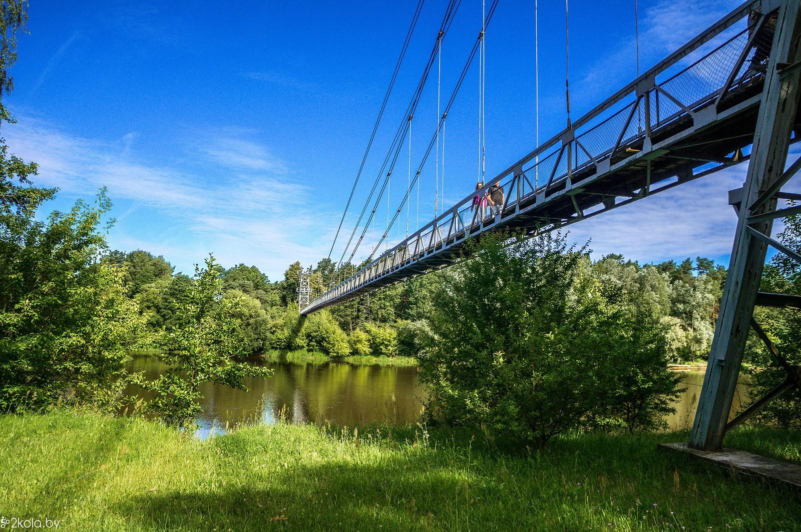 В Гродно появится подвесной пешеходный мост через Неман