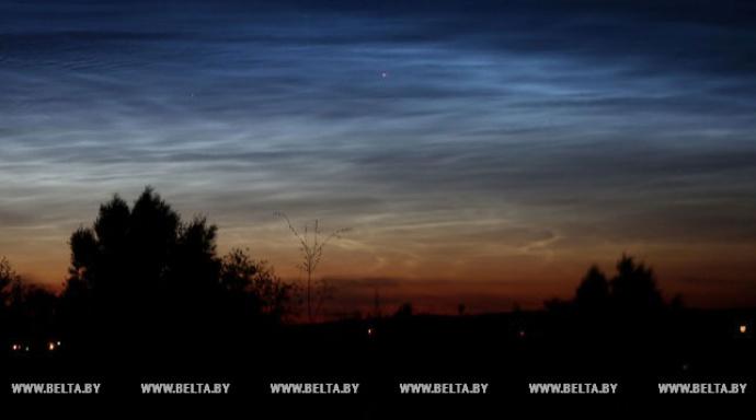 В Гродно можно было наблюдать редкое атмосферное явление