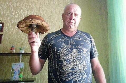Житель Лиды нашел подберезовик весом 840 грамм