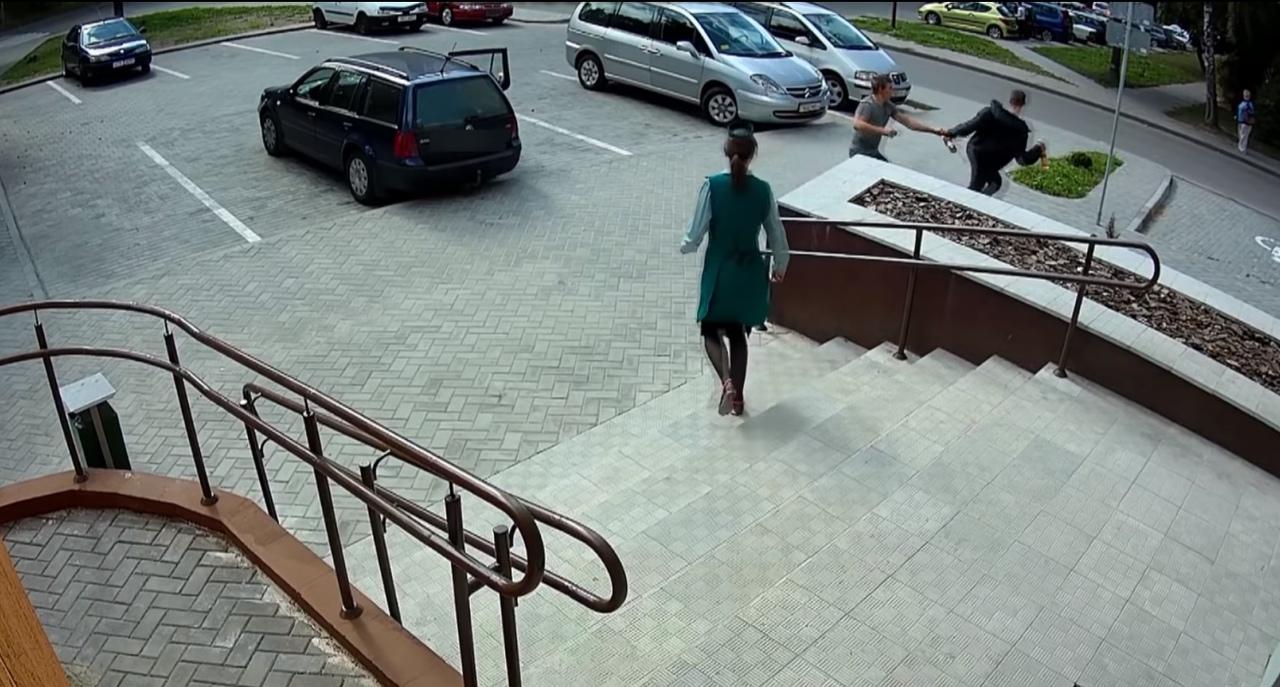 В Гродно задержали пьяного латыша, который похитил чернила из магазина