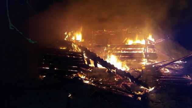 В Лидском районе мужчина инсценировал поджог своего дома ради страховки
