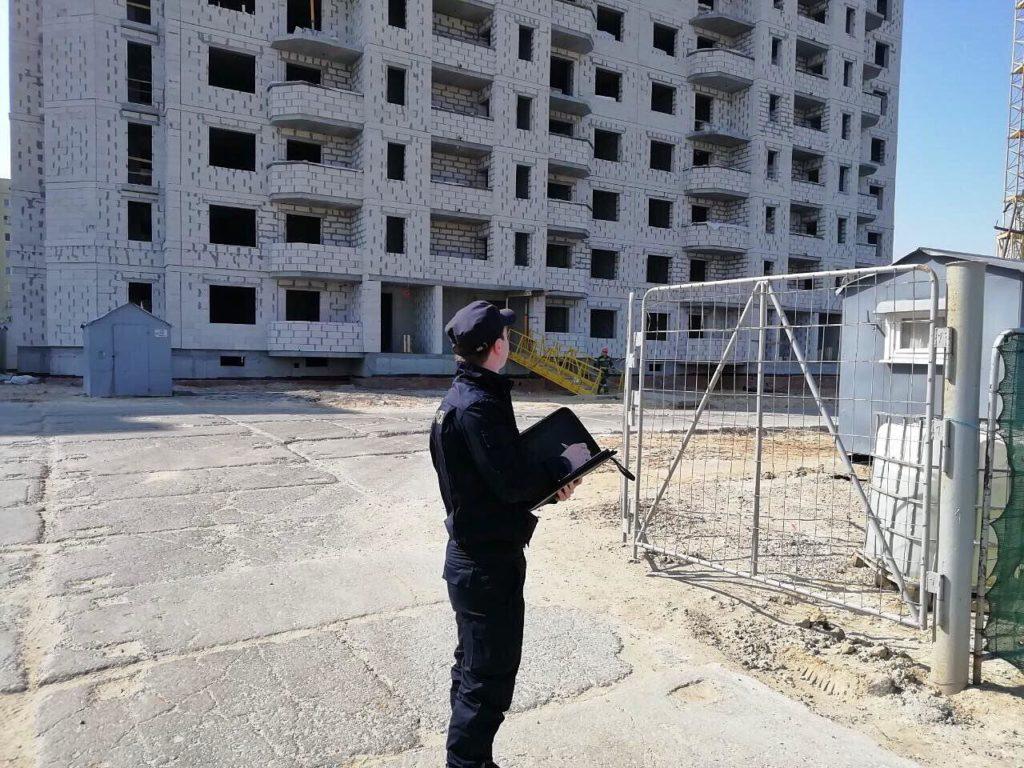 В Гродно насмерть разбился строитель