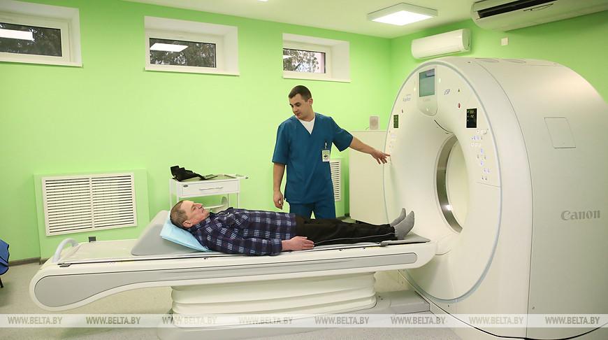 В Лидскую ЦРБ поступит новый компьютерный томограф в 2020 году