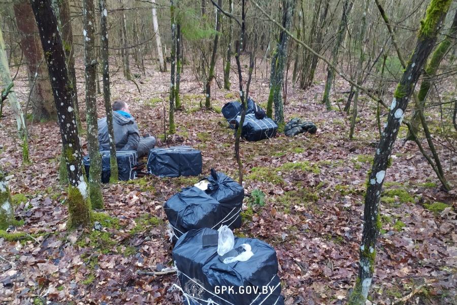 Лидские пограничники для задержания контрабандиста применили оружие