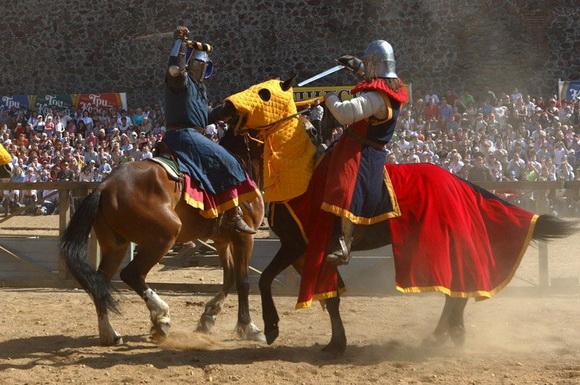 Рыцарский турнир в Лидском замке