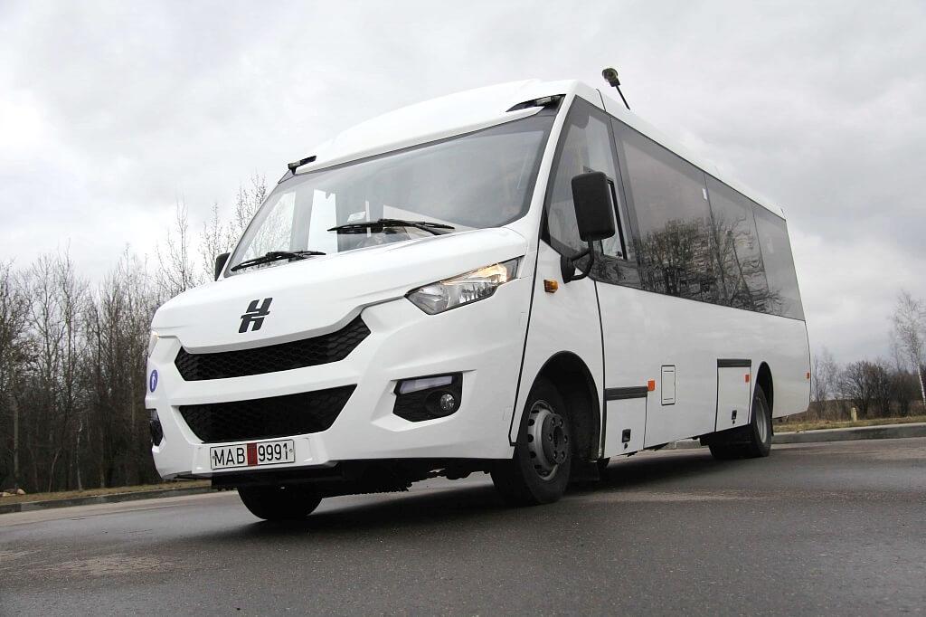 Лидские автобусы Неман пополнили автопарк Гродно