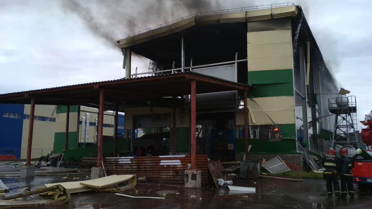 В Беларуси на заводе прогремел взрыв, есть пострадавшие