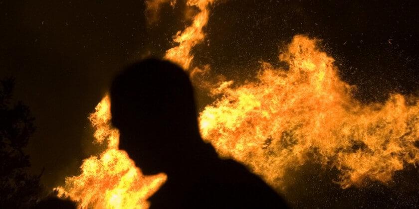 Мужчина сгорел в собственном доме в Лидском районе