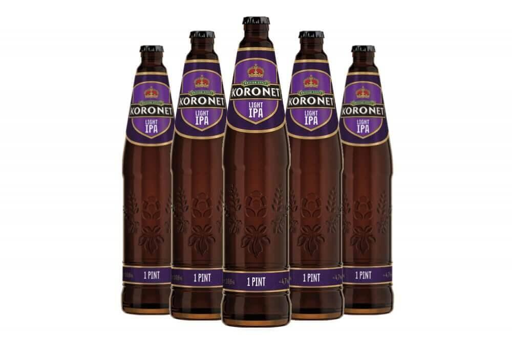 «Лидское пиво» выпустило новый сорт Koronet Light IPA