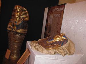 В Гродно привезли египетские мумии и саркофаги