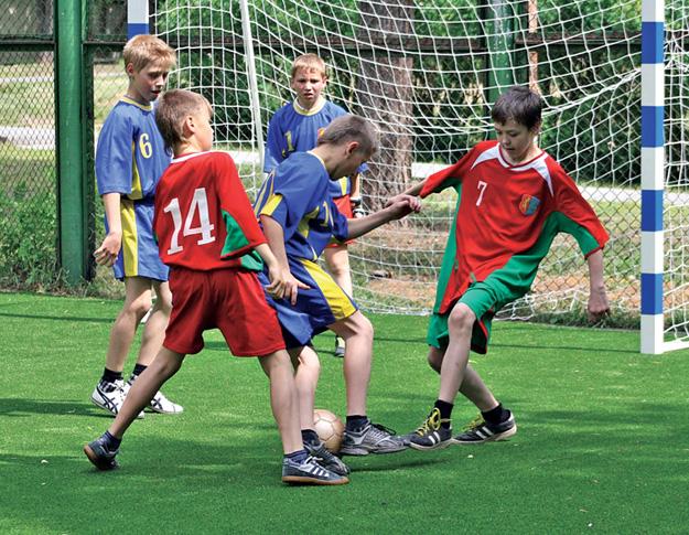 Особые надежды на мини... футбол