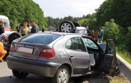 Страшная авария произошла вблизи Гродно
