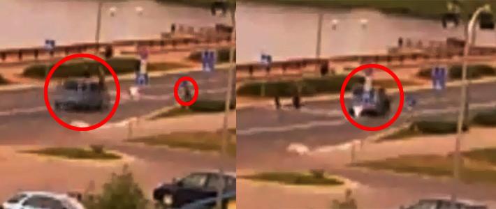 В Лиде водитель Mercedes сбил пешехода, пытавшегося успеть перейти дорогу