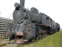 В Лиде реконструируют уникальный экспонат – угольный паровоз